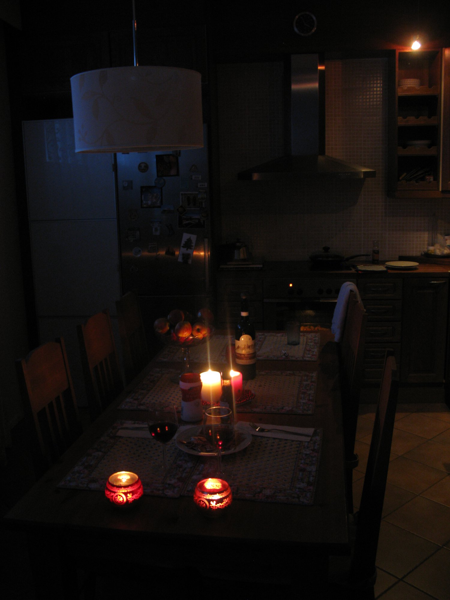 Cena romantica en casa y con jamoncito looking for a place in the world - Cena romantica a casa ...